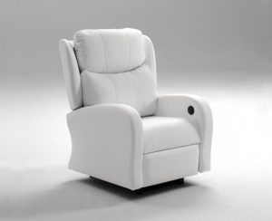 Sillones Relax de color blanco