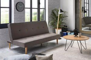 Sofá cama con apertura tipo libro en sofas.blog